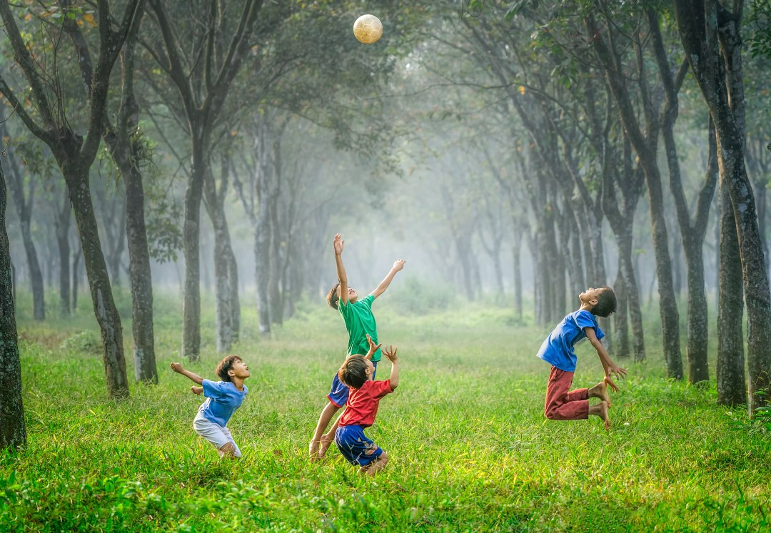 Exercise is essensial for child development