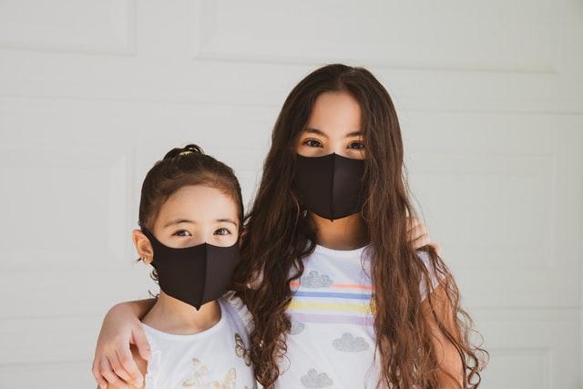 Using masks when outside